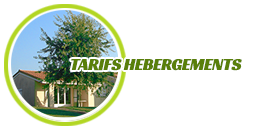 Tarifs hébergements associations